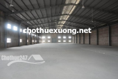 Cho thuê kho xưởng tại Phú Diễn Từ Liêm Hà Nội DT 2015m2 giá tốt