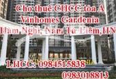 Cho thuê CHCC tòa A Vinhomes Gardenia Hàm Nghi, Nam Từ Liêm,HN
