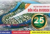 đất dự án Hiệp Hòa Riverside, cù lao phố, views sông, chỉ 2 tỷ 100m2 sổ thổ