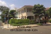 Cho thuê biệt thự căn góc Hồ Bơi riêng khu Mỹ Phú 1, Phú Mỹ Hưng, Quận 7 chính chủ: 0912639118 Mr Kiên