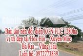 Bán đất nền đối diện KCN FLC 1280ha, vị trí đẹp tại Hòa Hội – Xuyên Mộc - Bà Rịa – Vũng Tàu.