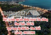 Biệt thự biển mặt tiền đường Huỳnh Thúc Kháng Phan Thiết - Mũi Né, ngay trung tâm Mũi Né - Phan Thiết, gần khu resort Sea Links Phan Thiết, gần khu khách sạn Mường Thanh.
