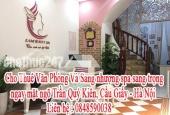 Cho Thuê Văn Phòng Và Sang nhượng spa sang trọng ngay mặt ngõ Trần Quý Kiên, Cầu Giấy - Hà Nội.
