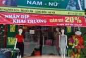 Sang nhượng cửa hàng quần áo thời trang mặt phố số 82 Nguyễn Sơn, Quận Long Biên, Hà Nội