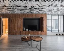 Ngôi nhà kết hợp kiến trúc hiện đại cùng phong cách tối giản