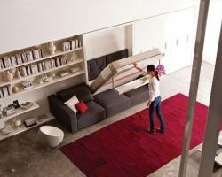 Giường gấp tiện lợi cho nhà nhỏ