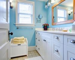 Làm mới nhà tắm với 7 cách ít tốn tiền