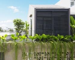 Ngôi nhà khép kín của nắng và cây