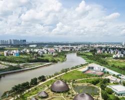 Những mái nhà hình nấm bên sông Sài Gòn