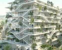 Tòa nhà văn phòng sinh thái thân thiện với môi trường