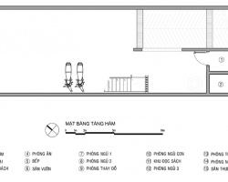 Xây nhà ống có 5 phòng ngủ thông thoáng cho chủ nhà mệnh Kim
