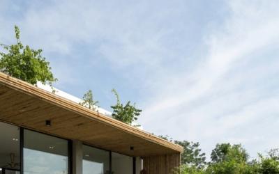 Ngôi nhà sở hữu không gian mở vùng ngoại thành Hà Nội